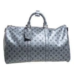 Louis Vuitton Metallic Monogram Keepall Bandouliere 50 Bag