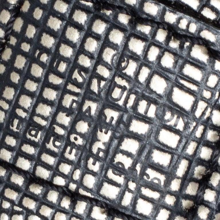 Louis Vuitton Metallic Silver Epi Leather Alma BB Bag For Sale 1