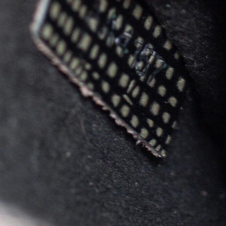 Louis Vuitton Metallic Silver Epi Leather Alma BB Bag For Sale 2