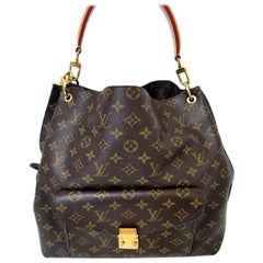 Louis Vuitton Metis Brown Monogram Hobo Bag