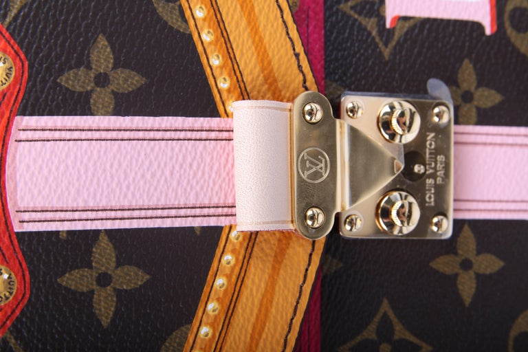 Louis Vuitton Brown and Pink Limited Edition Metis Handbag, 2018  For Sale 5
