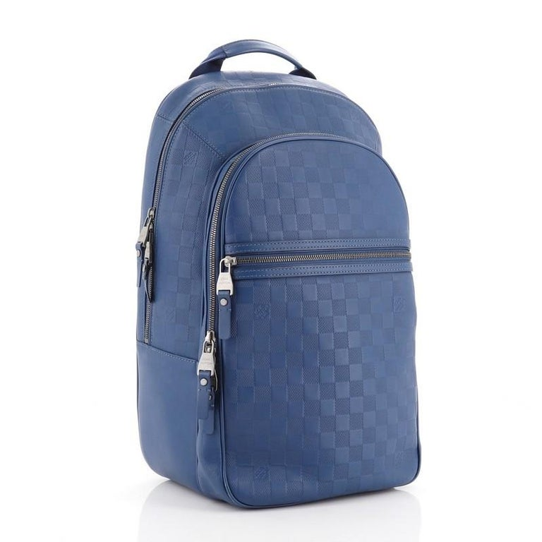 Louis Vuitton Michael NM Backpack Damier Infini Leather In Good Condition For Sale In New York, NY