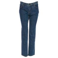 Louis Vuitton Mid-Rise Straight Leg Jeans (US 6 / FR 38)