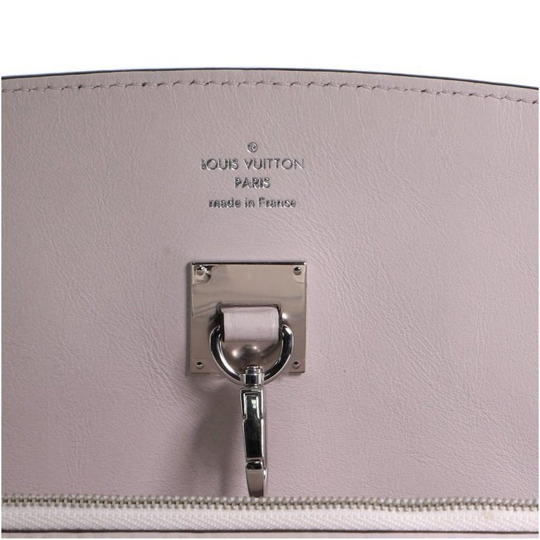 Louis Vuitton Milla Handbag Veau Nuage Calfskin MM For Sale 5
