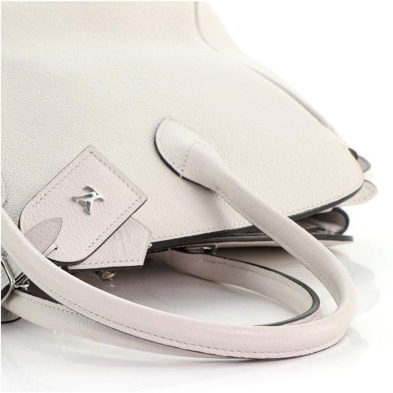 Louis Vuitton Milla Handbag Veau Nuage Calfskin MM For Sale 1
