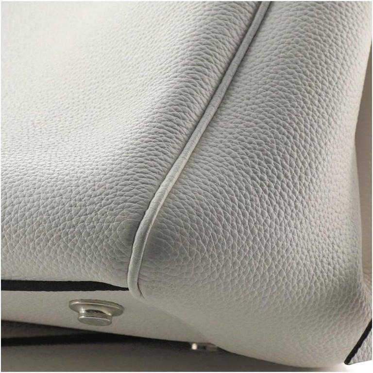 Louis Vuitton Milla Handbag Veau Nuage Calfskin MM For Sale 4