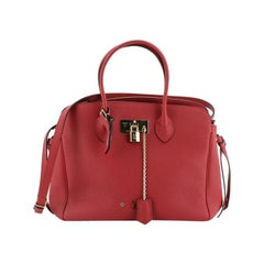 Louis Vuitton Milla Tote Bag Veau Nuage Calfskin MM