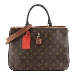 Louis Vuitton Millefeuille Handbag Monogram Canvas and Leather