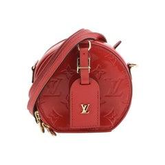 Louis Vuitton Mini Boite Chapeau Bag Monogram Vernis