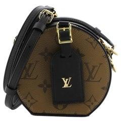 Louis Vuitton Mini Boite Chapeau Bag Reverse Monogram Canvas