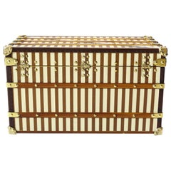 "Louis Vuitton Mini ""Courier"" Trunk Jewelry Box"
