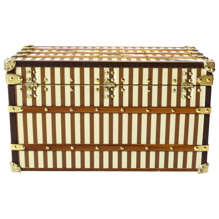 Louis Vuitton Mini Courier Trunk Jewelry Box At 1stdibs