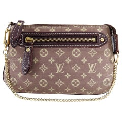 Louis Vuitton Mini Lin Extra Small Micro Pochette Bag