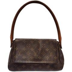 Louis Vuitton Mini Looping Bag Brown Monogram Hand Bag
