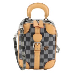 Louis Vuitton Mini Luggage Vertical Limited Edition Colored Damier