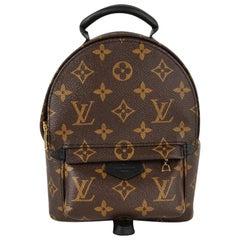 Louis Vuitton Mini Palm Springs Backpack Monogram Bag