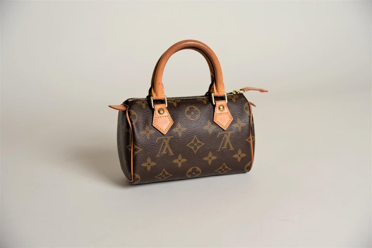 Louis Vuitton Mini Speedy Monogram with Dustbag For Sale 9