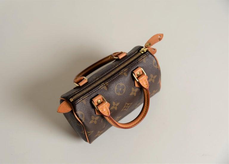 Louis Vuitton Mini Speedy Monogram with Dustbag For Sale 10