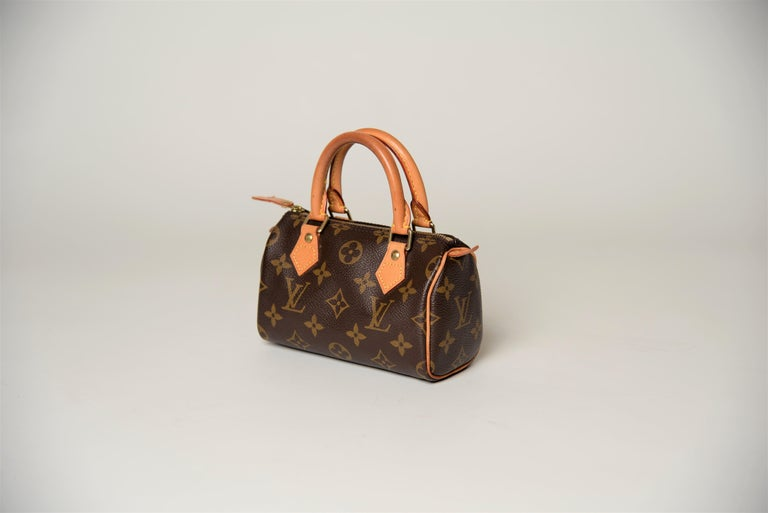 Louis Vuitton Mini Speedy Monogram with Dustbag In Good Condition For Sale In Roosendaal, NL