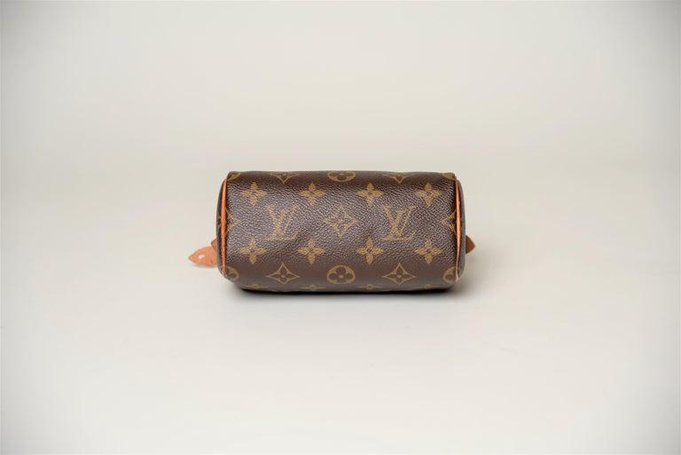 Women's or Men's Louis Vuitton Mini Speedy Monogram with Dustbag For Sale