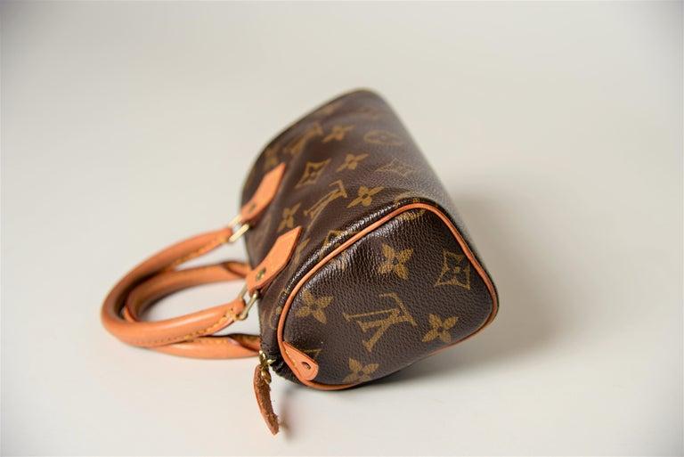 Louis Vuitton Mini Speedy Monogram with Dustbag For Sale 2