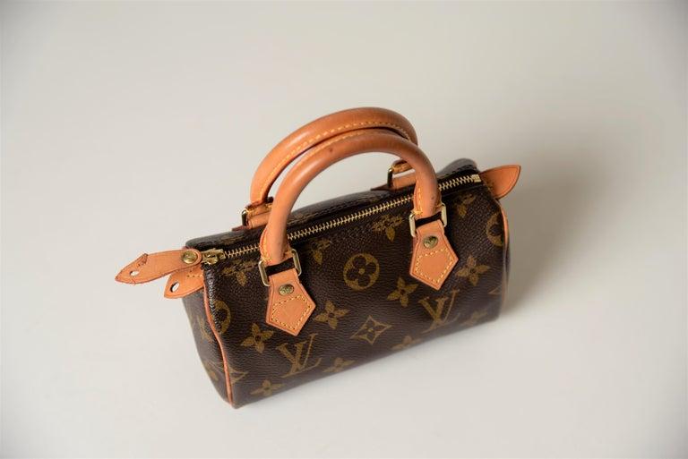 Louis Vuitton Mini Speedy Monogram with Dustbag For Sale 3