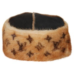 Louis Vuitton Mink Brown Beret