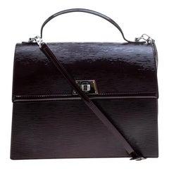 Louis Vuitton Mirabeau Electric Epi Leather Sevigne GM Bag