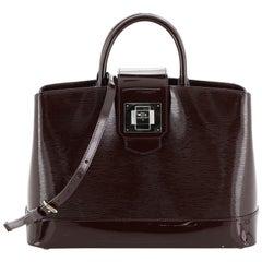 Louis Vuitton Mirabeau Handbag Electric Epi Leather GM