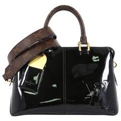Louis Vuitton Miroir Handbag Vernis with Monogram Canvas