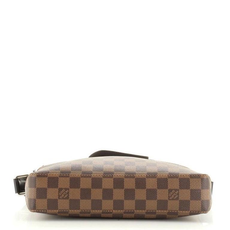Women's or Men's Louis Vuitton Model: Jake Messenger Bag Damier PM For Sale