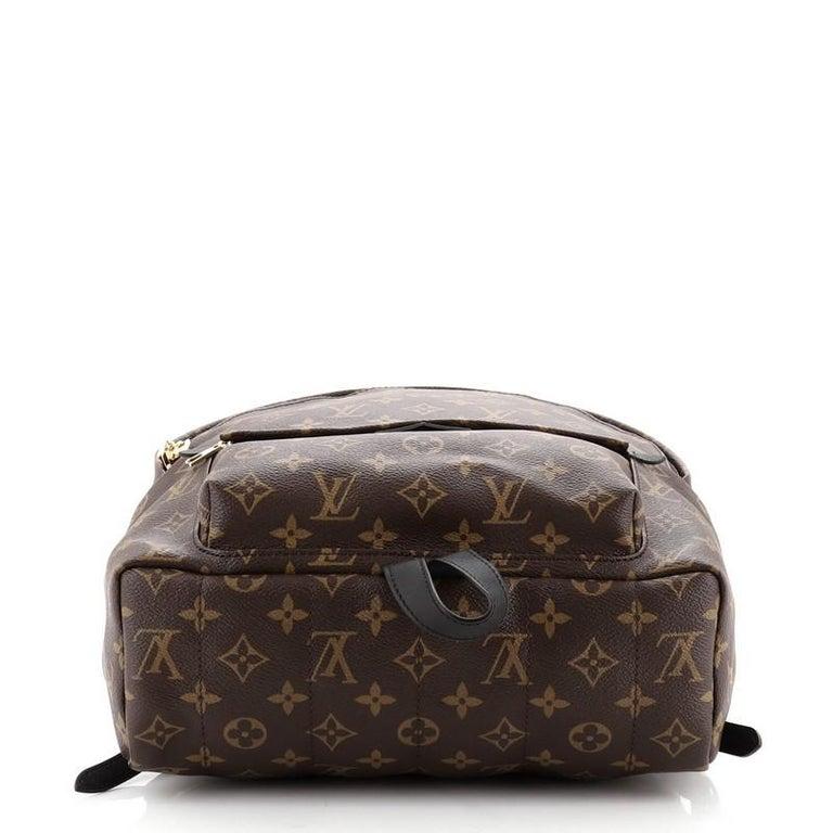 Women's or Men's Louis Vuitton Model: Palm Springs Backpack Monogram Canvas MM For Sale