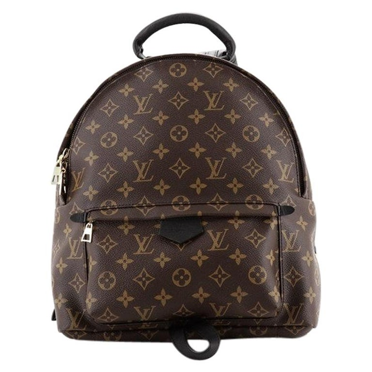 Louis Vuitton Model: Palm Springs Backpack Monogram Canvas MM For Sale