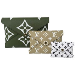 Louis Vuitton Mono Giant Kirigami Pochette Set