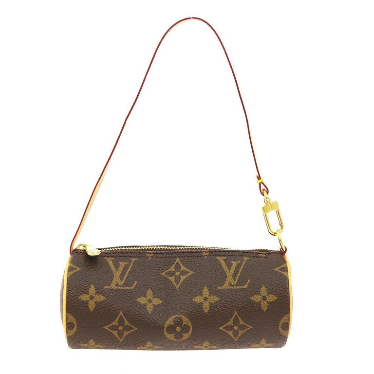Louis Vuitton Monogram 2 in 1 Mini Round Pochette Top Handle Satchel Bags In Good Condition For Sale In Chicago, IL