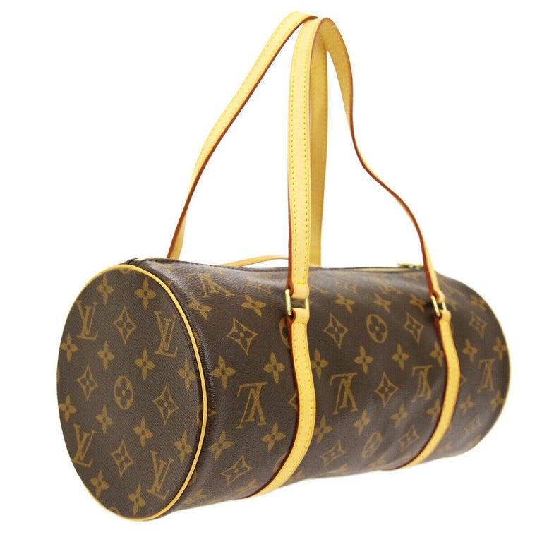 Women's Louis Vuitton Monogram 2 in 1 Mini Round Pochette Top Handle Satchel Bags For Sale