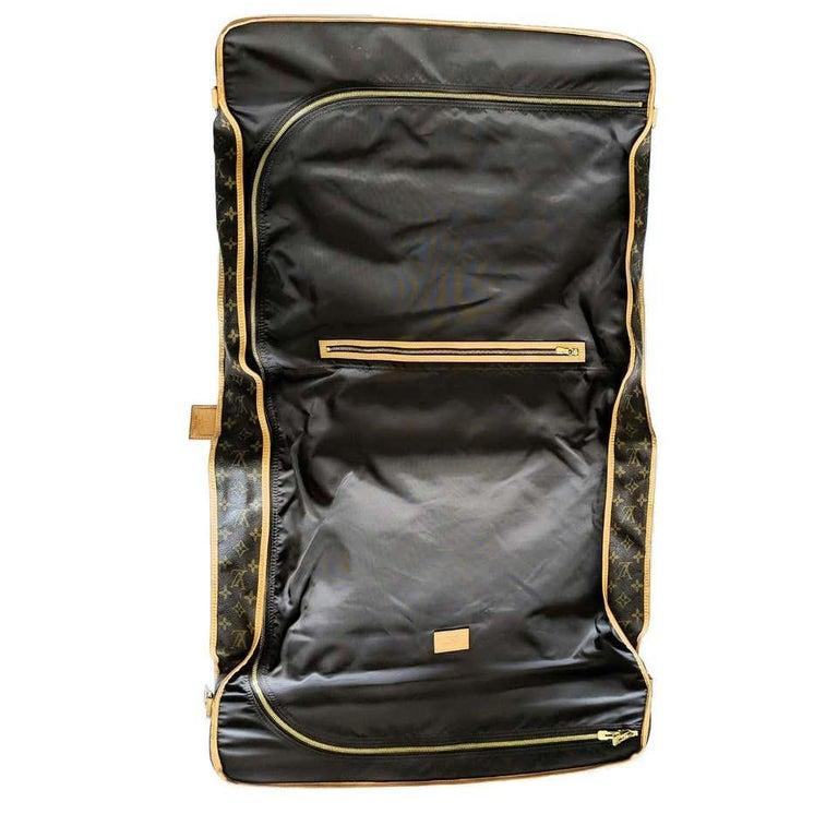 Louis Vuitton Monogram 56cm Garment Bag Luggage Carrier  For Sale 1