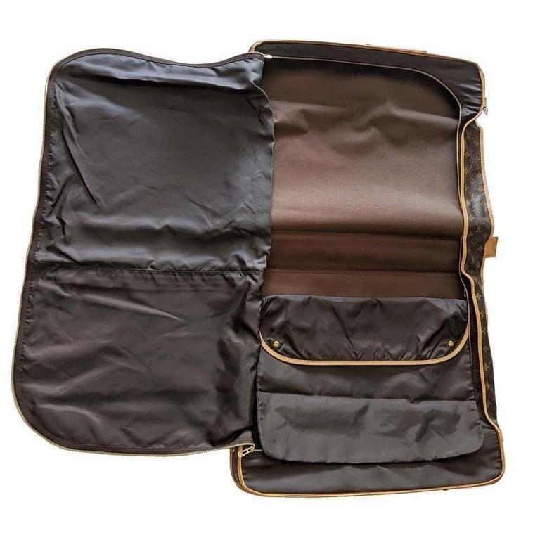 Louis Vuitton Monogram 56cm Garment Bag Luggage Carrier  For Sale 2