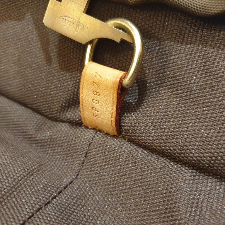 Louis Vuitton Monogram 56cm Garment Bag Luggage Carrier  For Sale 3