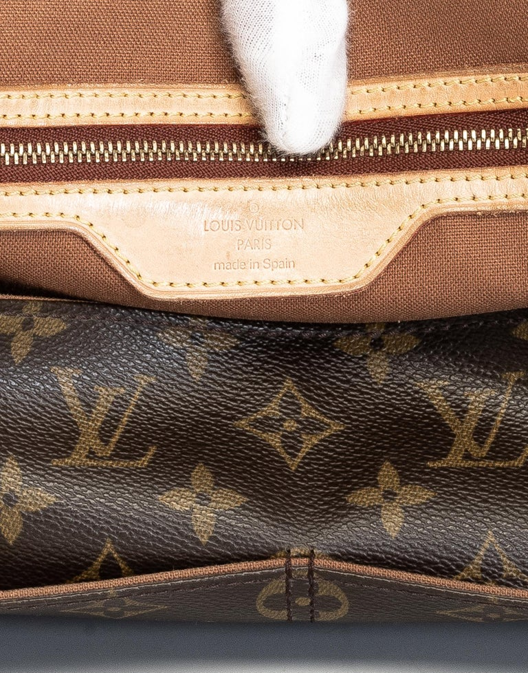 Louis Vuitton Monogram Abbesses Messenger School Book Laptop Bag For Sale 2