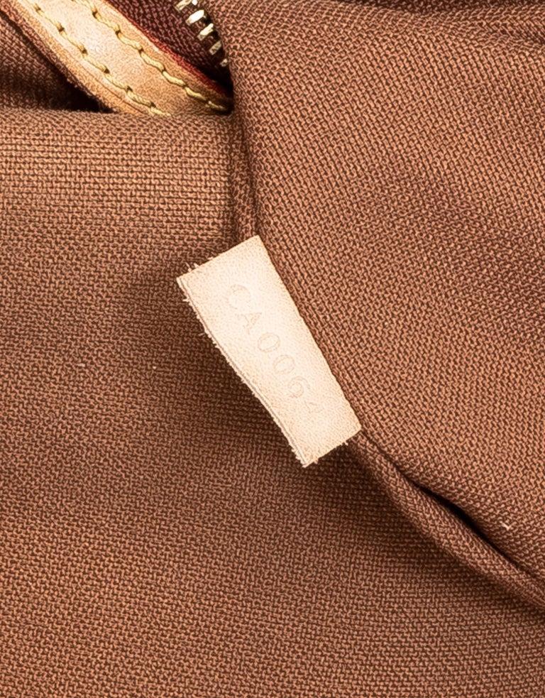 Louis Vuitton Monogram Abbesses Messenger School Book Laptop Bag For Sale 3