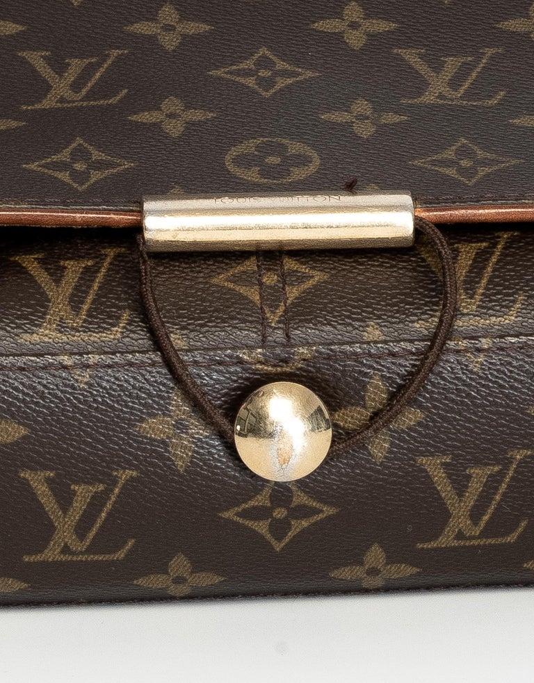 Louis Vuitton Monogram Abbesses Messenger School Book Laptop Bag For Sale 4