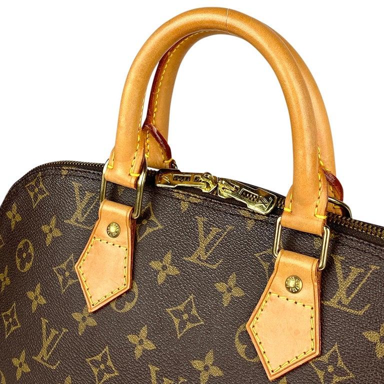 Louis Vuitton Monogram Alma PM Handbag For Sale 1