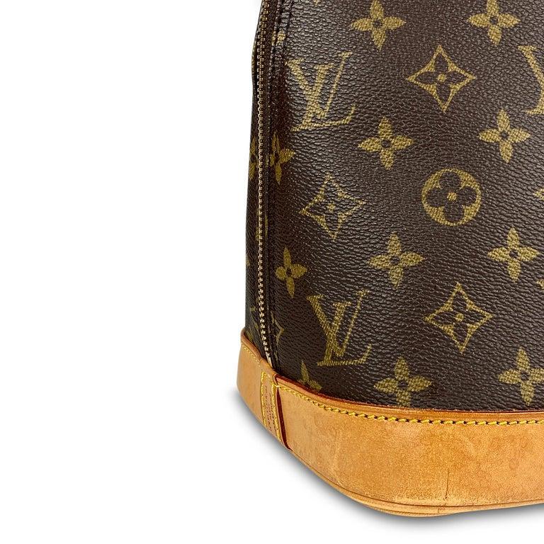 Louis Vuitton Monogram Alma PM Handbag For Sale 2