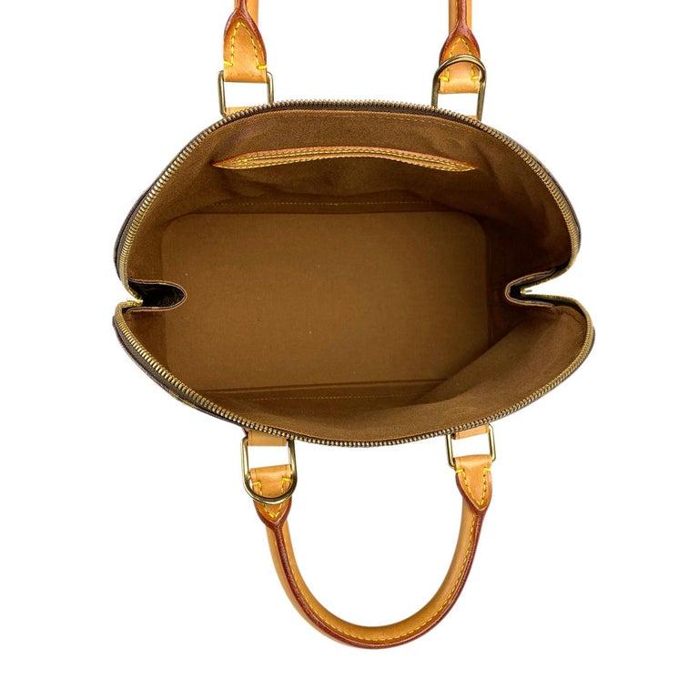 Louis Vuitton Monogram Alma PM Handbag For Sale 4