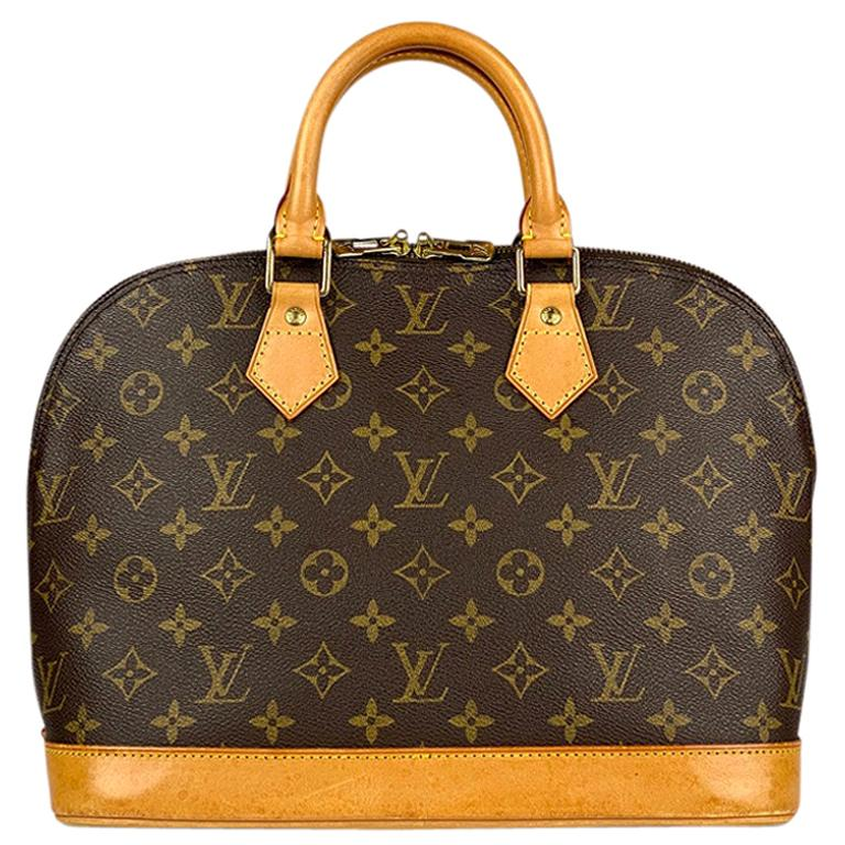 Louis Vuitton Monogram Alma PM Handbag For Sale