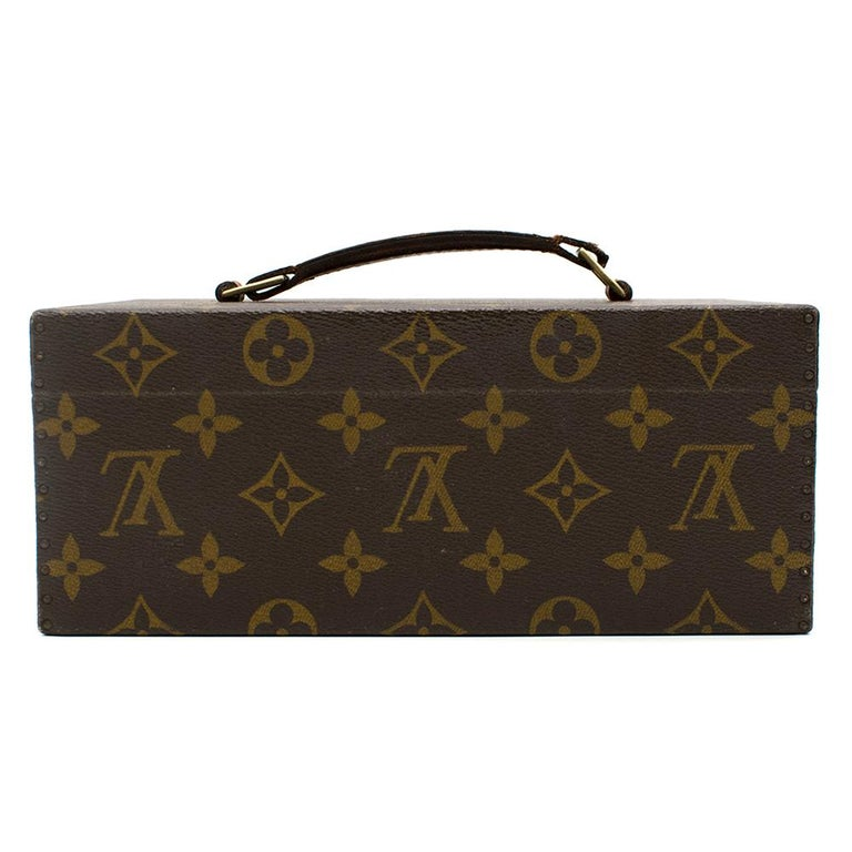 Louis Vuitton Monogram Boite a Tout Jewellery Case In Good Condition For Sale In London, GB