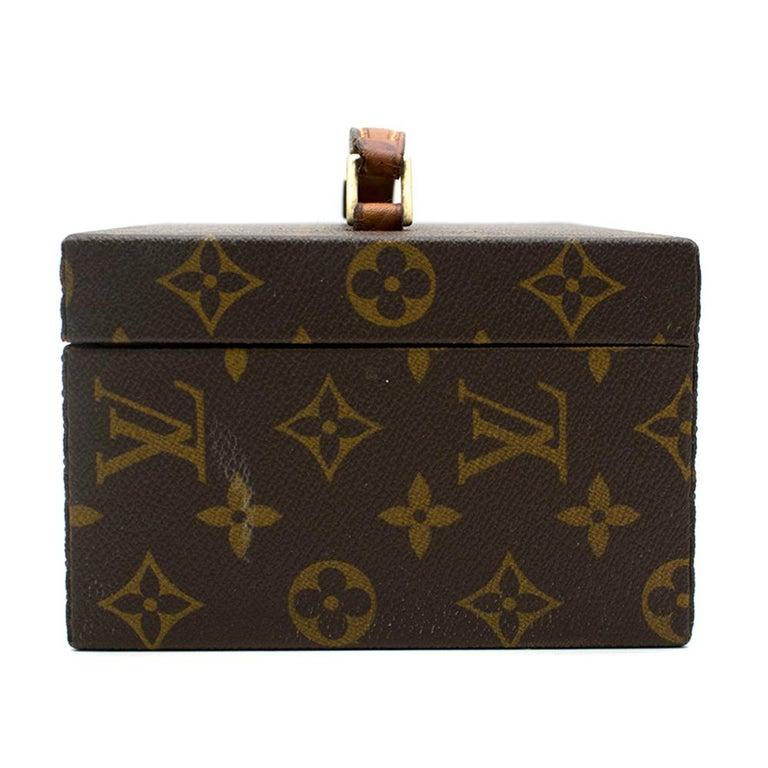 Women's Louis Vuitton Monogram Boite a Tout Jewellery Case For Sale