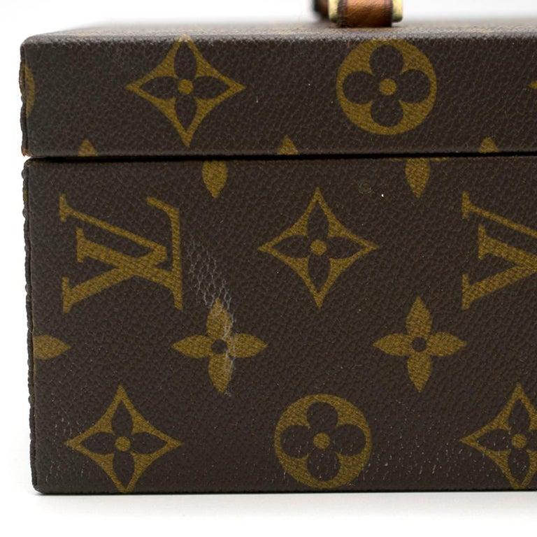 Louis Vuitton Monogram Boite a Tout Jewellery Case For Sale 1