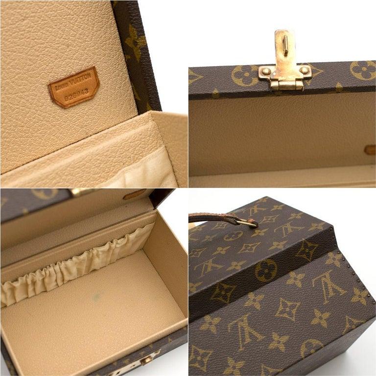Louis Vuitton Monogram Boite a Tout Jewellery Case For Sale 3